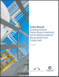 Carbon Removal: Comparing Historical Federal Research Investments with the National Academies' Recommended Future Funding Levels