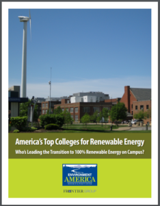 America's Top Colleges for Renewable Energy