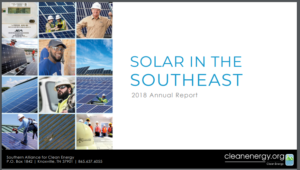 Solar in the Southeast 2018 Annual Report