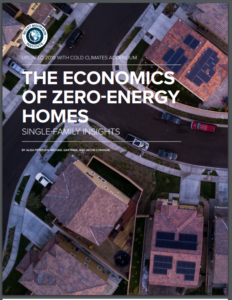 The Economics of Zero-Energy Homes