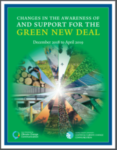 Changes in Awareness of and Support for the Green New Deal: December 2018 to April 2019