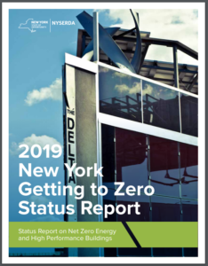 2019 New York Getting to Zero Status Report