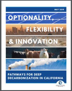 Optionality, Flexibility & Innovation: Pathways for Deep Decarbonization in California