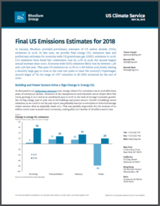 Final US Emissions Estimates for 2018