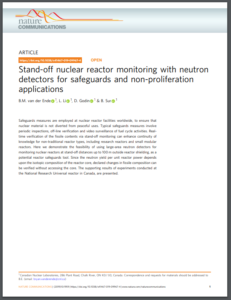 Stand-off nuclear reactor monitoring with neutron detectors for safeguards and non-proliferation applications