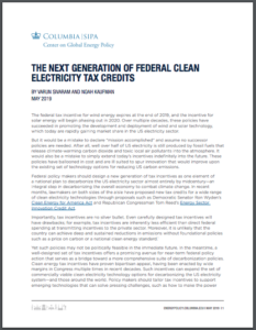 The Next Generation of Federal Clean Electricity Tax Credits