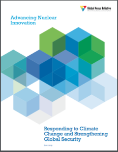 Advancing Nuclear Innovation: Responding to Climate Change and Strengthening Global Security