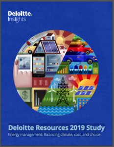 Deloitte Resources 2019 Study Energy management: Balancing climate, cost, and choice