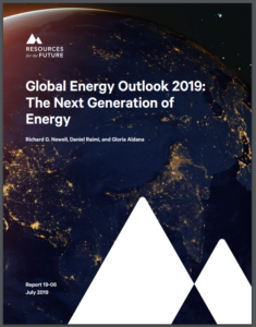Global Energy Outlook 2019: The Next Generation of Energy
