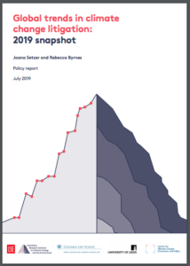 Global trends in climate change litigation: 2019 snapshot