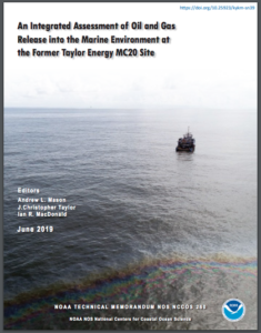 An Integrated Assessment of Oil and Gas Release into the Marine Environment at the Former Taylor Energy MC20 Site