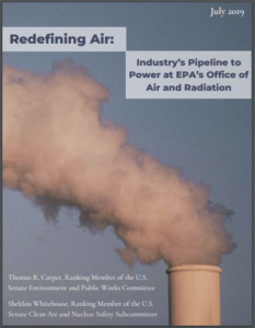 Redefining Air: Industry's Pipeline to Power at EPA's Office of Air and Radiation