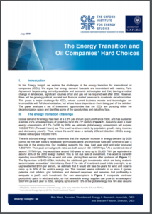 The Energy Transition and Oil Companies' Hard Choices