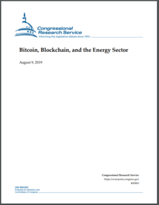 Bitcoin, Blockchain, and the Energy Sector