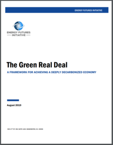 A Framework for the Green Real Deal