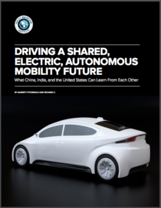 Driving A Shared, Electric, Autonomous Mobility Future