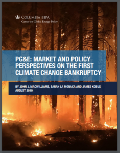 PG&E: Market and Policy Perspectives on the First Climate Change Bankruptcy