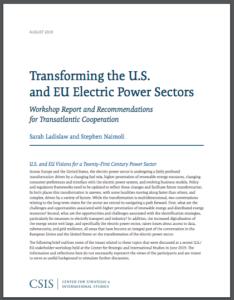 Transforming the U.S. and EU Electric Power Sectors