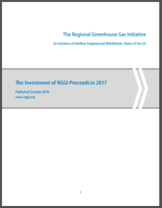 The Investment of the Regional Greenhouse Gas Initiative Proceeds in 2017