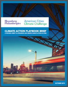 Climate Action Playbook Brief