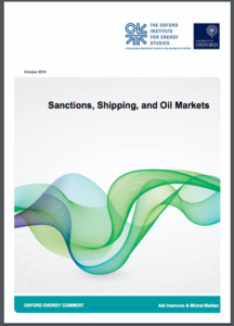 Sanctions, Shipping, and Oil Markets