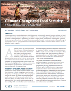 Climate Change and Food Security: A Test of U.S. Leadership in a Fragile World