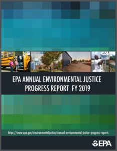 Fiscal Year 2019 Environmental Justice Progress Report