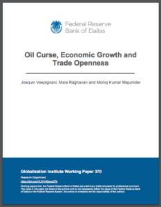 Oil Curse, Economic Growth and Trade Openness
