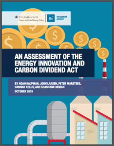 An Assessment of the Energy Innovation and Carbon Dividend Act