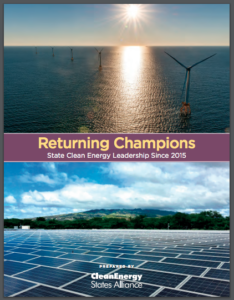 Returning Champions: State Clean Energy Leadership Since 2015