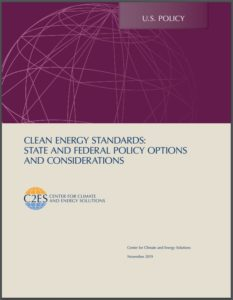 Clean Energy Standards: State and Federal Policy Options and Considerations