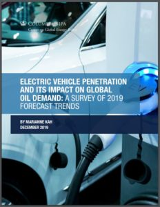 Electric Vehicle Penetration and Its Impact On Global Oil Demand: A Survey of 2019 Forecast Trends