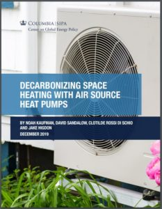 Decarbonizing Space Heating with Air Source Heat Pumps
