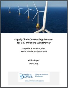 Supply Chain Contracting Forecast for U.S. Offshore Wind Power