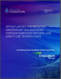 OPPORTUNITIES FOR REDUCING GREENHOUSE GAS EMISSIONS THROUGH EMERGING NATURAL GAS DIRECT-USE TECHNOLOGIES