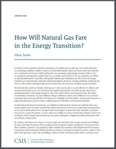 How Will Natural Gas Fare in the Energy Transition?