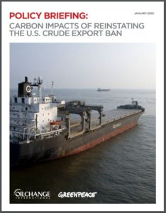 Carbon Impacts of Reinstating the U.S. Crude Export Ban