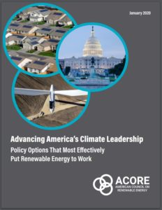 Advancing America's Climate Leadership