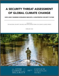 A Security Threat Assessment of Global Climate Change