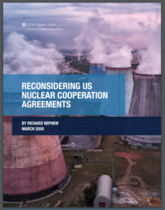 Reconsidering US Nuclear Cooperation Agreements