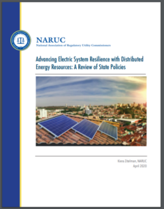 Advancing Electric System Resilience with Distributed Energy Resources: A Review of State Policies