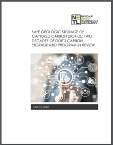 Safe Geologic Storage of Captured Carbon Dioxide: Two Decades of DOE's Carbon Storage R&D Program in Review