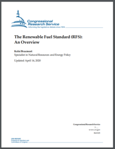 The Renewable Fuel Standard (RFS): An Overview