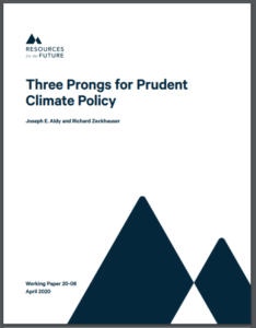 Three Prongs for Prudent Climate Policy