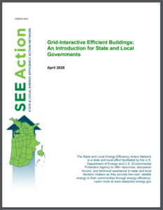 Grid-Interactive Efficient Buildings: An Introduction for State and Local Governments