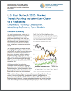 U.S. Coal Outlook 2020: Market Trends Pushing Industry Ever Closer to a Reckoning