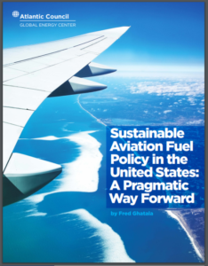 Sustainable Aviation Fuel Policy in the United States: A Pragmatic Way Forward