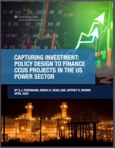 Capturing Investment: Policy Design to Finance CCUS Projects in the U.S. Power Sector