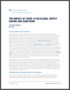 The Impact of Covid-19 on Global Supply Chains and Sanctions