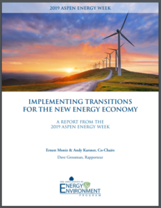 Implementing Transitions for the New Energy Economy
